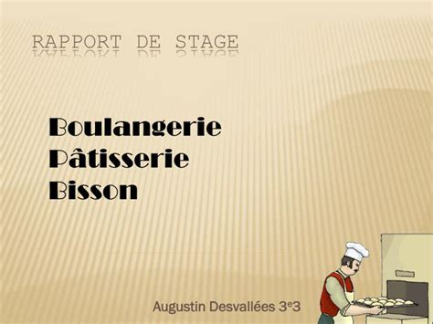 ppt rapport de stage powerpoint presentation id 2132110