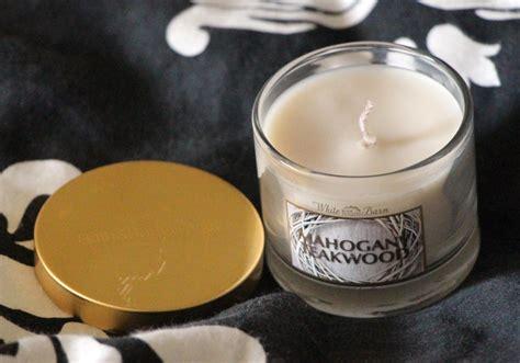 White Barn Candle Mahogany Teakwood Uk by Bath Works Mini Candles Mahogany Teakwood Pumpkin