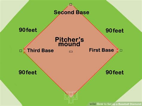 3 ways to set up a baseball wikihow
