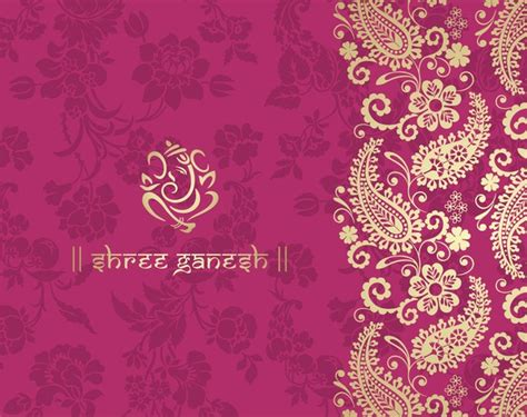 pink ethnic wallpaper indian ethnic pattern with pink backgrounds vector 02