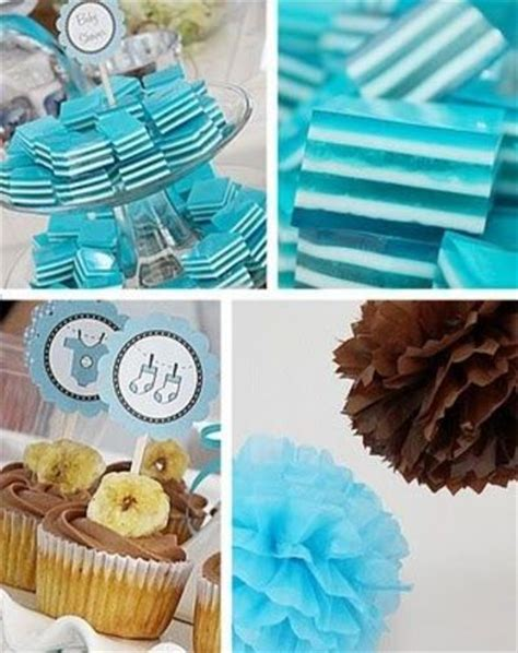 Brown And Blue Baby Shower Decorations by Blue Baby Shower Decorations Best Baby Decoration