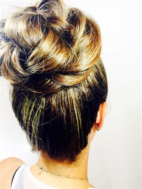 25 best ideas about high bun on high updo high bun hairstyles and high bun wedding