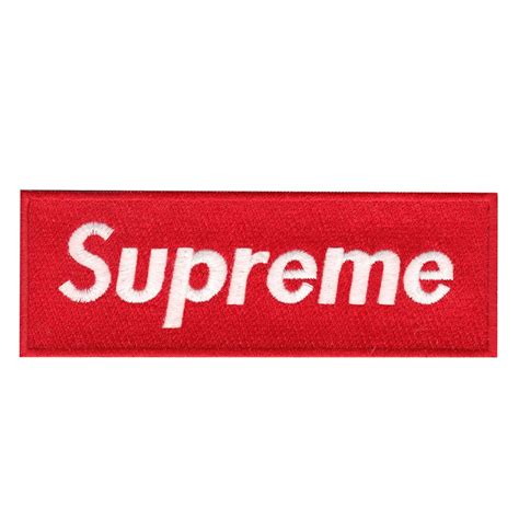 supreme box logo supreme box logo iron on applique patch