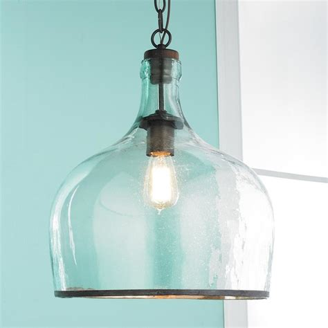 cloche pendant light large glass cloche pendant pendant lighting by shades