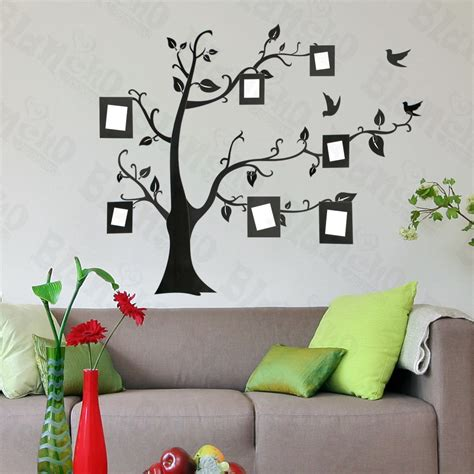 unique bedroom wall decal idea showing abstract black tree bedroom wall stickers decorate the bedroom wall