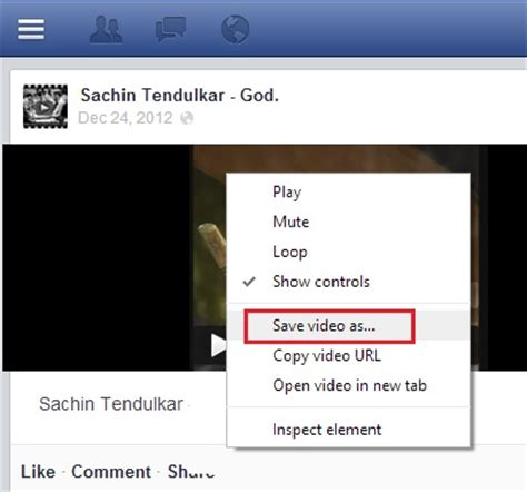fb video tweak to download facebook videos without using any apps