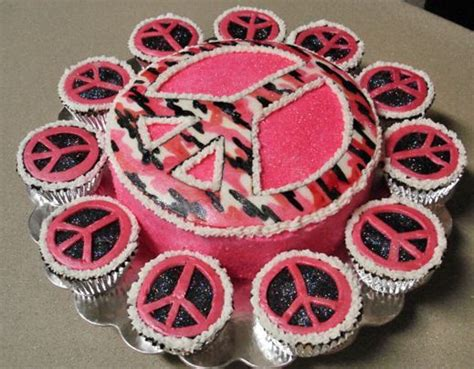 Image Result For Http Cupcakesfrenzy Peace Sign Cupcakes Image Result For Http Www Cakepicturegallery D 13279 2 Peace