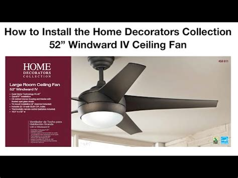 how to install a ceiling fan with remote doovi