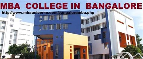 Top Mba Colleges In Bangalore With Fees by List Of Best Mba Colleges In Bangalore Employment From