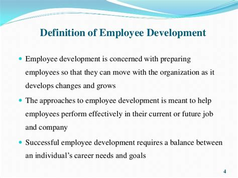 employee development employee development