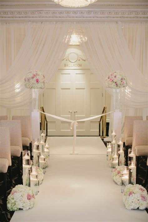 Wedding Aisle Ballroom by 171 Best Images About Indoor Wedding Altar Ideas On