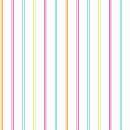 Cardy Stripe hoopla pink green blue lemon stripe white wallpaper