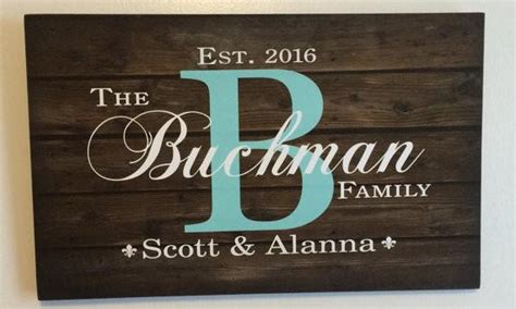 custom family name sign heartland canvas and signs