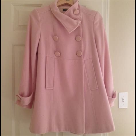 light pink pea coat 80 zara jackets blazers zara light pink pea coat