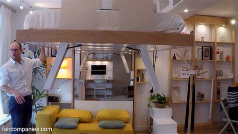 ceiling bed adaptive space saving bed snaps into ceiling when not