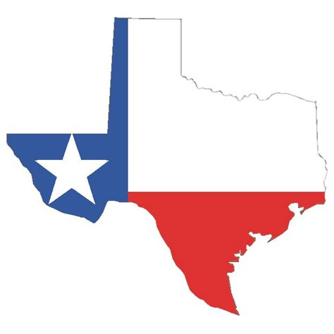 texas map flag vector map of texas with flag at vectorportal