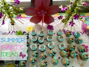 Summer Party Decorations by Summer Party Ideas