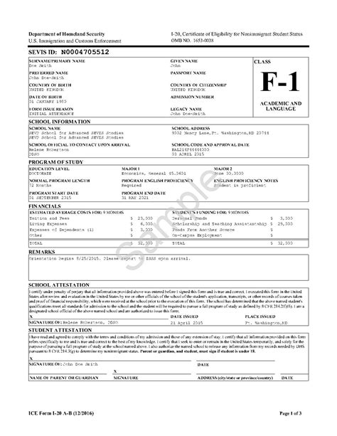 Attestation Letter Wiki i 20 form