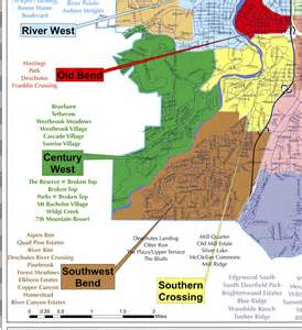 map of bend oregon neighborhoods which are the best neighborhoods in bend oregon part 2