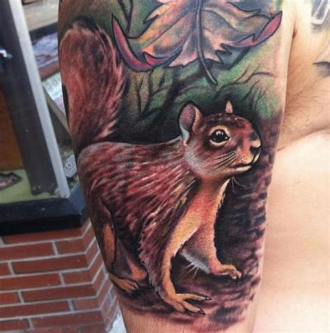 black squirrel tattoo squirrel tattoos designs ideas and meaning tattoos for you