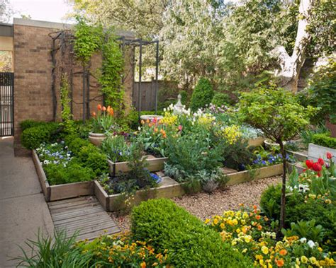 Raised Flower Bed Home Design Ideas, Pictures, Remodel and