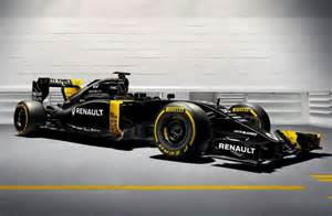 F1 Renault 2016 Renault F1 Car Rs16 Revealed