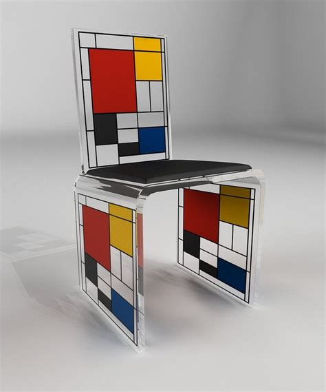 piet mondrian inspiration piet mondrian chair for sale artspace