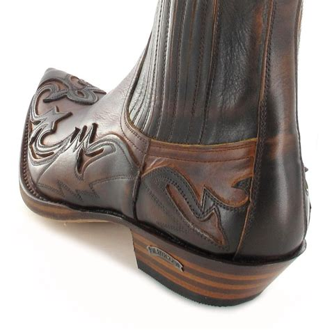 sendra boots sendra boots 4660 marron western ankle boot brown