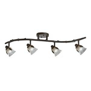 portfolio light fixture shop portfolio 4 light olde bronze rustic track lighting