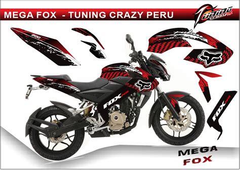 Yamaha Ns 10 Sticker by Tuning Motos Pulsar 200 Ns Rockstar Fox