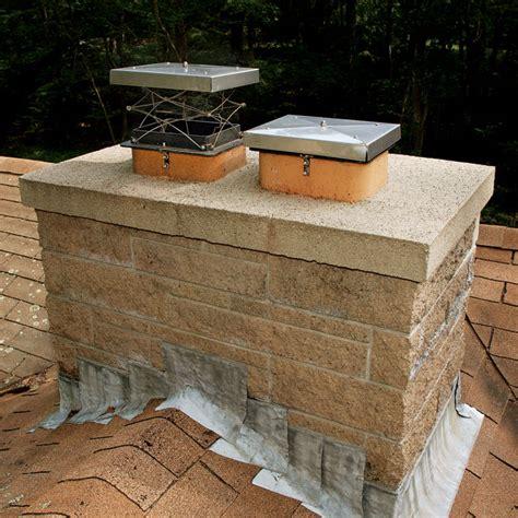 Top Sealing Fireplace Der by Choosing A Chimney Flue Top Der Homebuilding