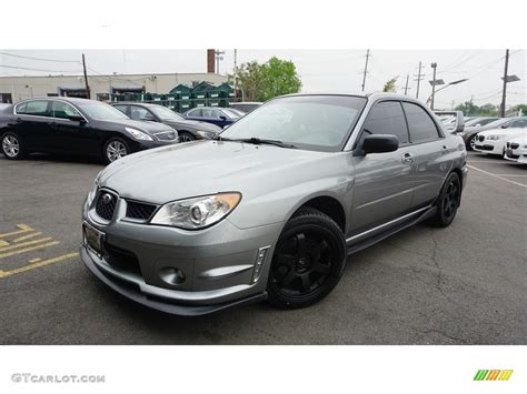 grey subaru impreza 2007 urban gray metallic subaru impreza 2 5i sedan