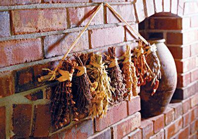 tech art  drying herbs
