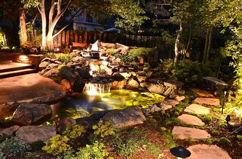 Outdoor Lighting Denver Denver Outdoor Lighting Landscape Connection