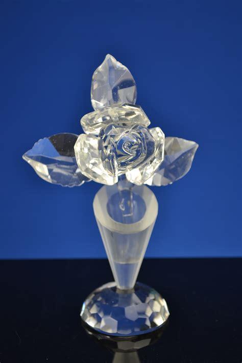 vaasje met bloem in auto vaasje met bloem crystal online de webshop met het