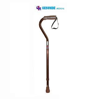 Stick Gagang Pegangan Coklat alat kesehatan grosir tongkat kaki satu fs938l gagang