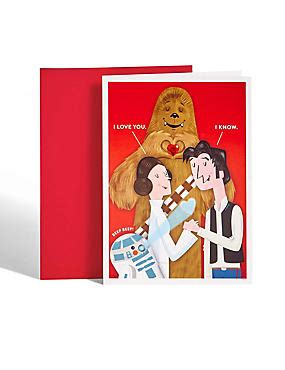 feet with great valentines offers from the star stable official shop star wars hans solo leia valentine s day card