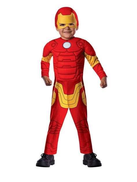 avengers assemble iron man toddler child costume baby