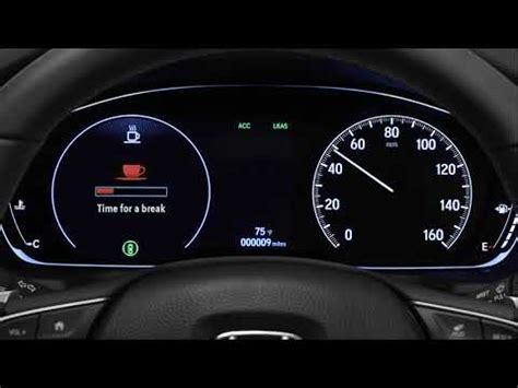 how to use the driver attention monitor on the 2018 honda