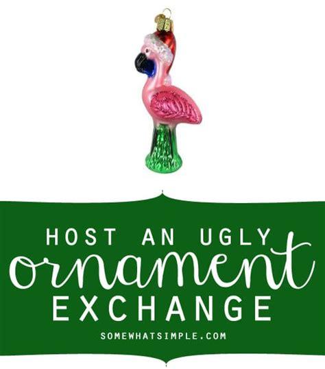 ugly ornament exchange
