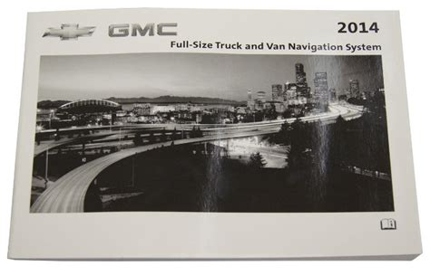 chevrolet gmc trucks vans navigation system