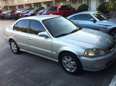 1998 honda civic lx 4 door find used 1998 honda civic lx sedan 4 door 1 6l in miami