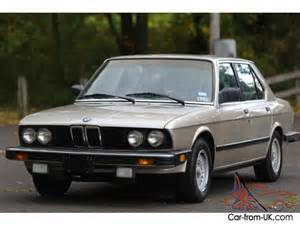 1988 Bmw 528e 1988 Bmw 528 528e Collectible Low 71k