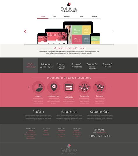 drupal template development web development responsive drupal template 53247 by wt