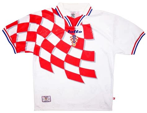 balls classic football kits croatia home 1998 balls ie