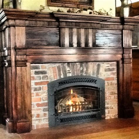 Veneer Fireplace by Fireplaces Vintage Brick Veneer