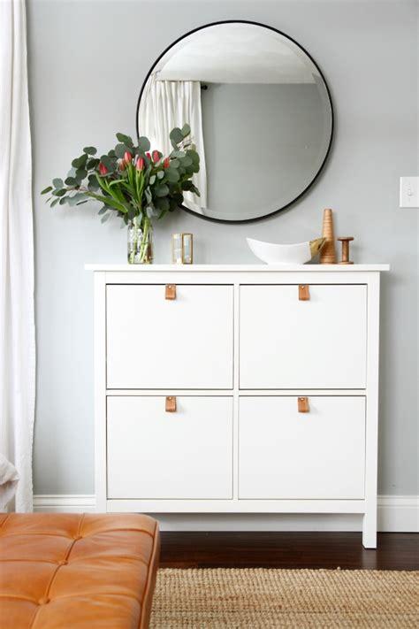 ikea shoe cabinet hack big impact small effort easy upgrades for ikea furniture