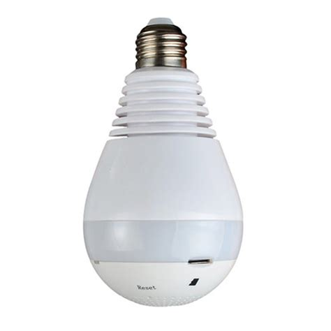 Ip Bulb 3d 960p 360 degree wireless ip bulb light fisheye smart home cctv 3d vr 1 3mp home