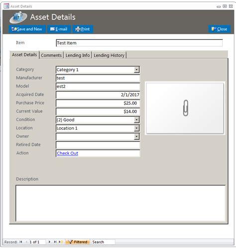 Microsoft Access Lending Library Database Template Microsoft Access Templates Library