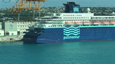 ship zenith pullmantur zenith cruise ship docked in the caribbean